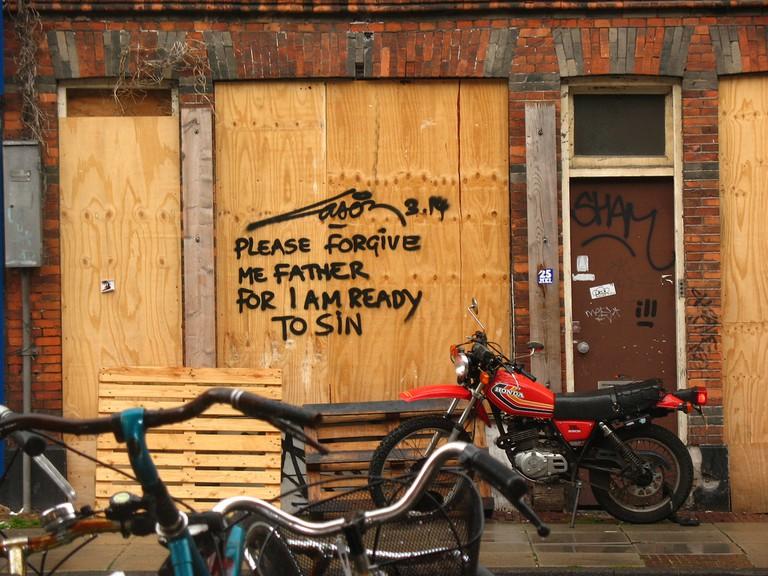 Street art by Laser 3.14   © Emma Peel / Flickr
