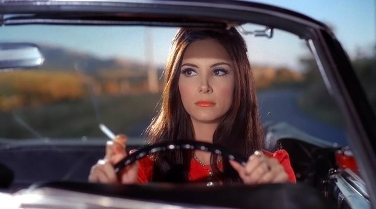 Looking for love: Samantha Robinson as Elaine