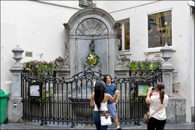 Manneken Pis | © E.Danhier/courtesy of visitbrussels.be