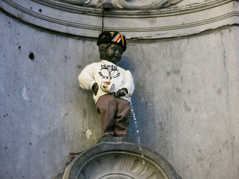 Manneken Pis | © Filip Malkovic/Flickr