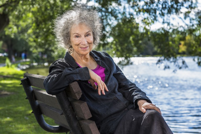Margaret Atwood, captured by Liam Sharpe