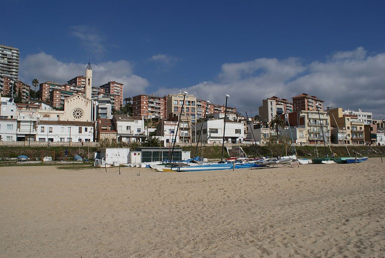 Montgat Beach | ©Msoengas via Wikimedia Commons
