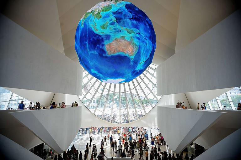 The inside of the Museum of Tomorrow  © Tomaz Silva/Agência Brasil