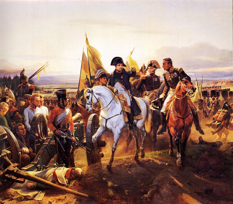'Napoleon at the Battle of Friedland' by Horace Vernet │