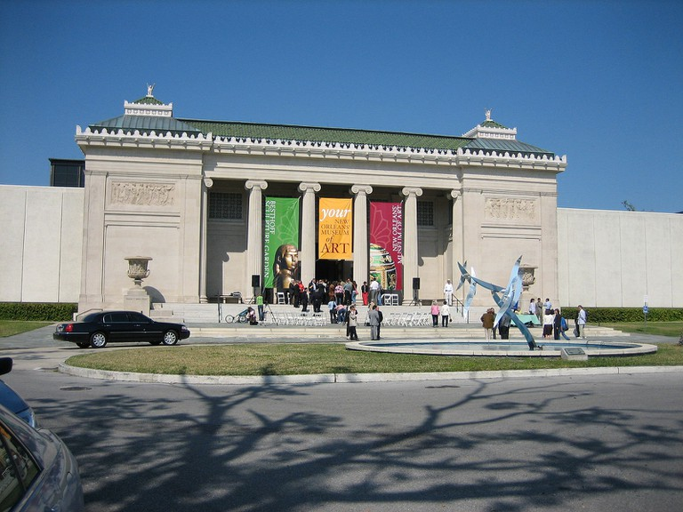 New Orleans Museum of Art│© Infrogmation of New Orleans