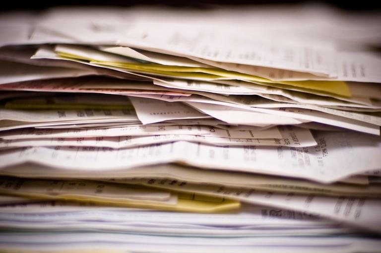 Paperwork | © Camilo Rueda López/Flickr