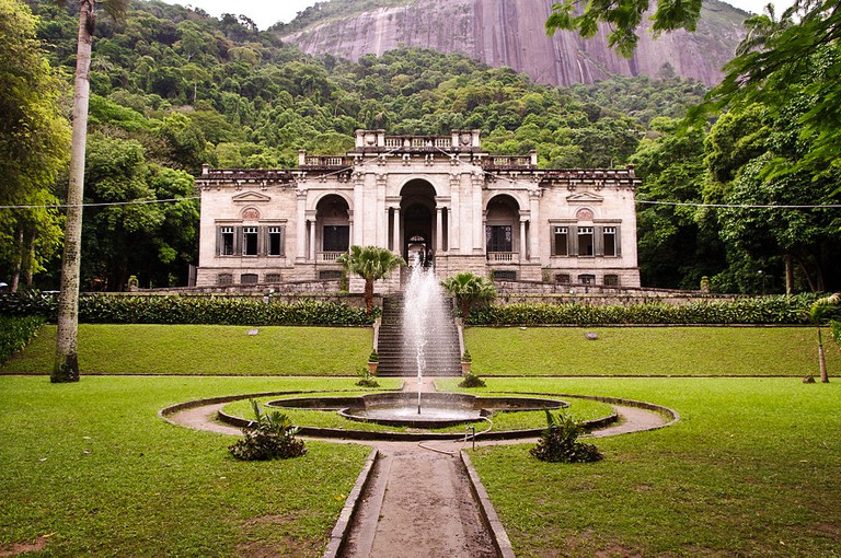 Parque Lage and its gardens