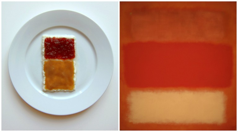 Left, inspired by Mark Rothko. Right, Blurriness inbetween