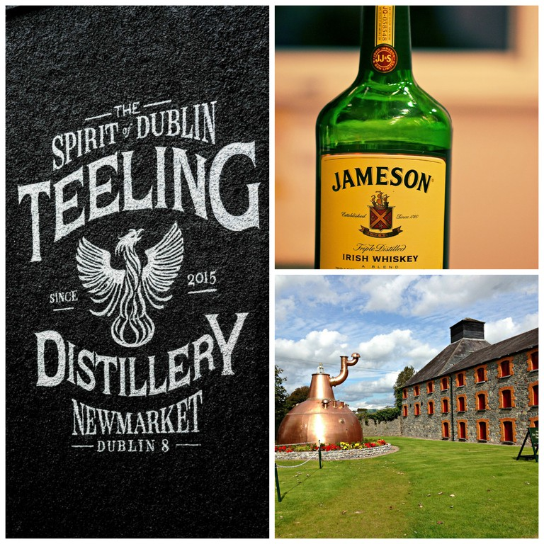 The Teeling Distillery in Dublin | © William Murphy/Flickr / Jameson Irish Whiskey | © Michael Bentley/Flickr / Jameson Experience, Midleton | © Meg Marks/Flickr