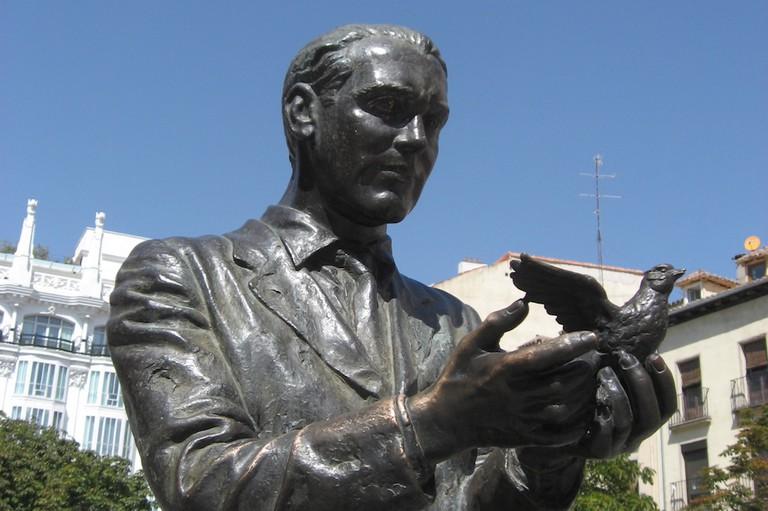 Statue of Lorca | © Gryffindor/WikiCommons