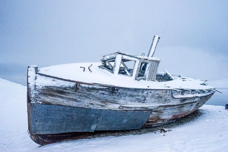 Shipwreck, 2015. © Joshua Abarbanel