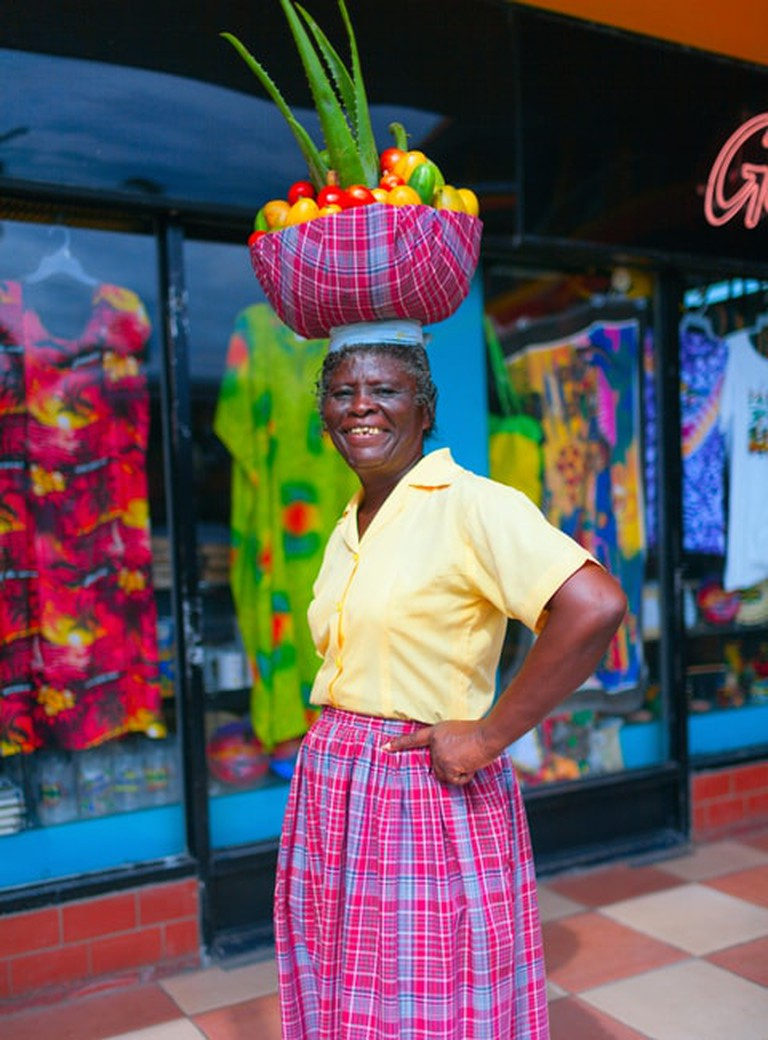 Jamaican woman in St Ann, Jamaica