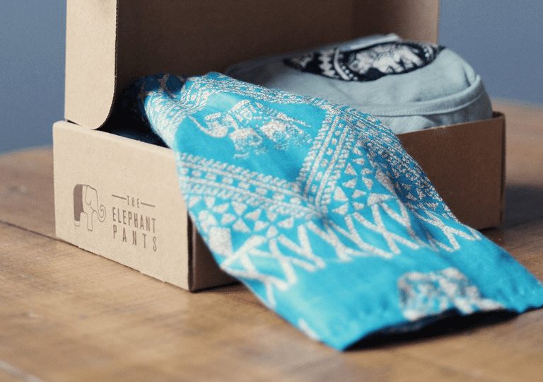 The Elephant Pant box gift