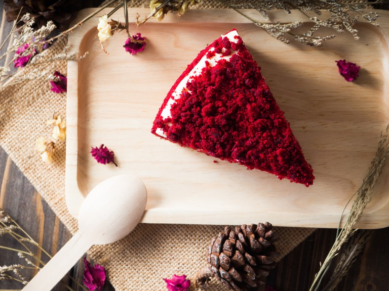 Red velvet cake © pickingpok/Shutterstock
