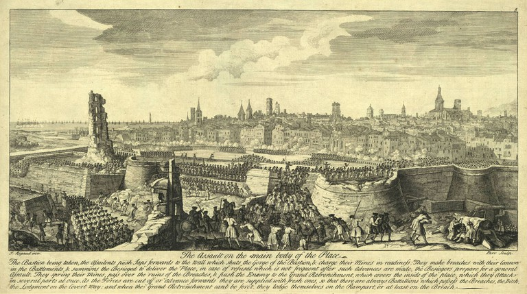 The siege of Barcelona
