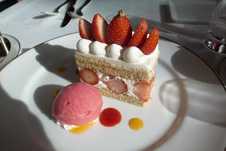 Strawberry shortcake | © Naotake Murayama/WikiCommons