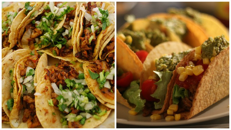 Mexican tacos | © Ari Helminen/Flickr / Hard shell tacos | © Karl-Martin Skontorp/Flickr
