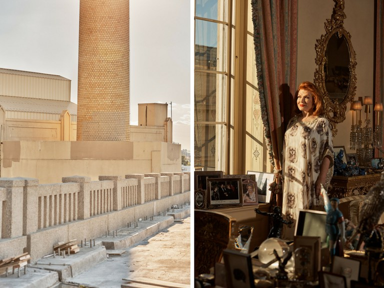 New Jersey infrastructure shot | © Cait Oppermann for M Le Monde | Georgette Mosbacher shot for FT Weekend | © Cait Oppermann