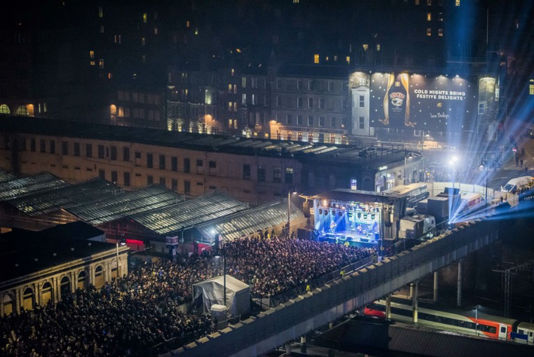 Waverley Stage | © Chris Watt / Courtesy Of Edinburgh's Hogmanay