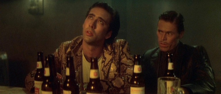 Nicholas Cage and Willem Defoe in Wild At Heart