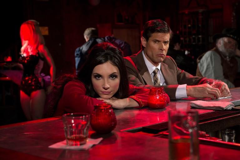 Elaine (Samantha Robinson) and potential victim