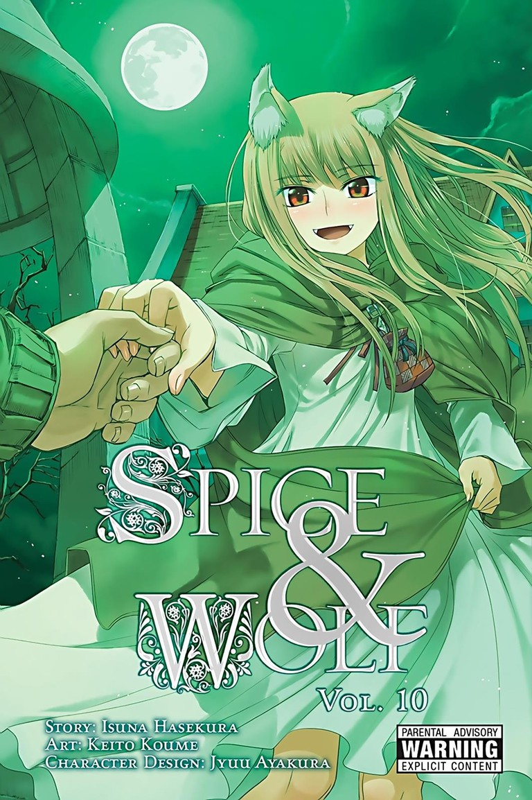 Spice and Wolf by Isuna Hasekura & Keito Koume