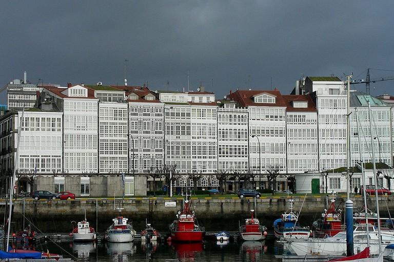 Galerias A Coruña | ©Jose Luis Cernadas Iglesias / Wikimedia Commons
