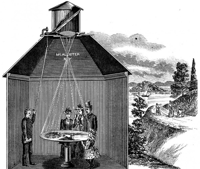 Depiction Of Camera Obscura | © WikiCommons
