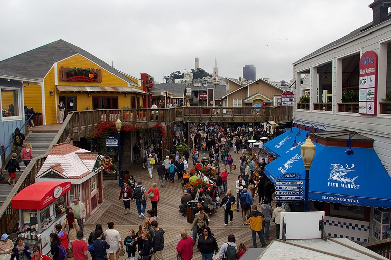 Pier 39 © Mike Peel/Wikipedia