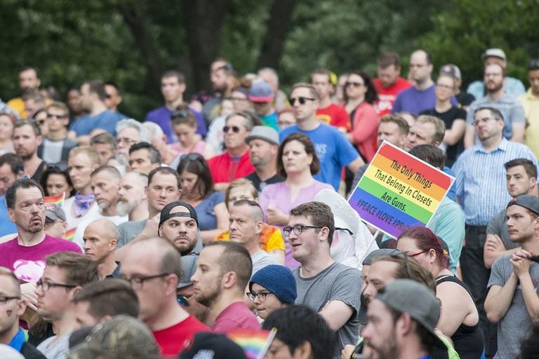 Vigil of solidarity in the wake of the Orlando Pulse shooting / © Fibonacci Blue/WikiCommons