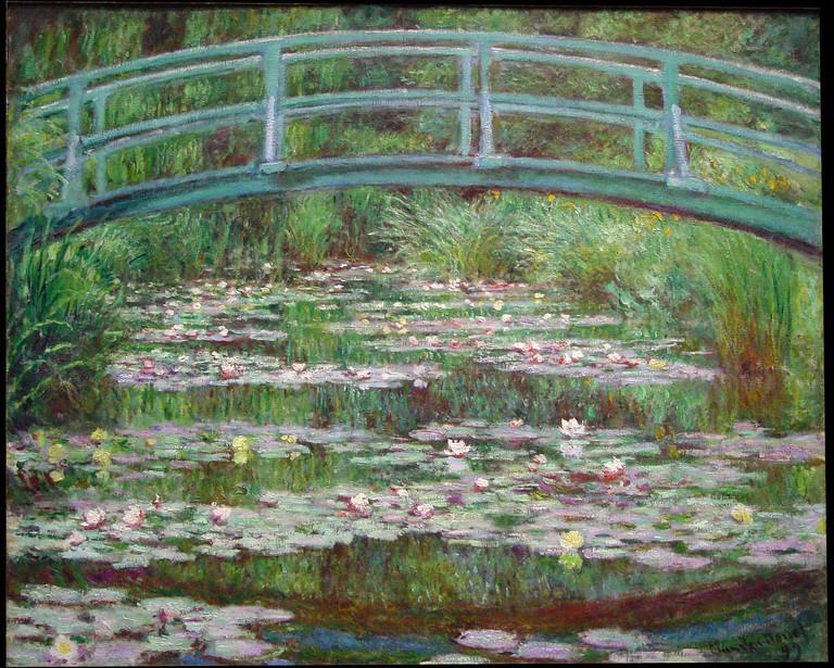 Claude Monet, The Japanese Footbridge, 1899