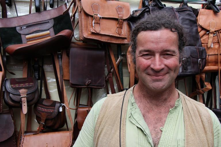 A trader at Galway Market | © Chris Sloan/Flickr