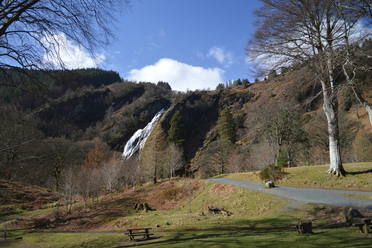 Powerscourt Waterfall, County Wicklow | © Matthew Wells/Flickr