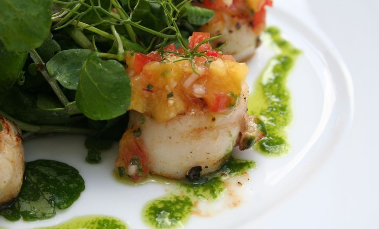 Scallops With Mango Salsa | © 46137/Flickr
