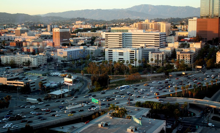 Downtown L.A. Traffic