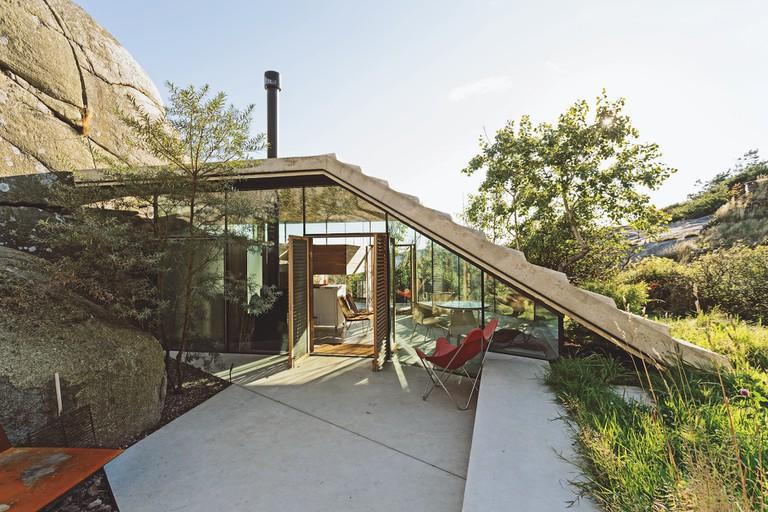 Lund Hagem Arkitekter, Cabin Knapphullet, 2014, Sandefjord, Norway