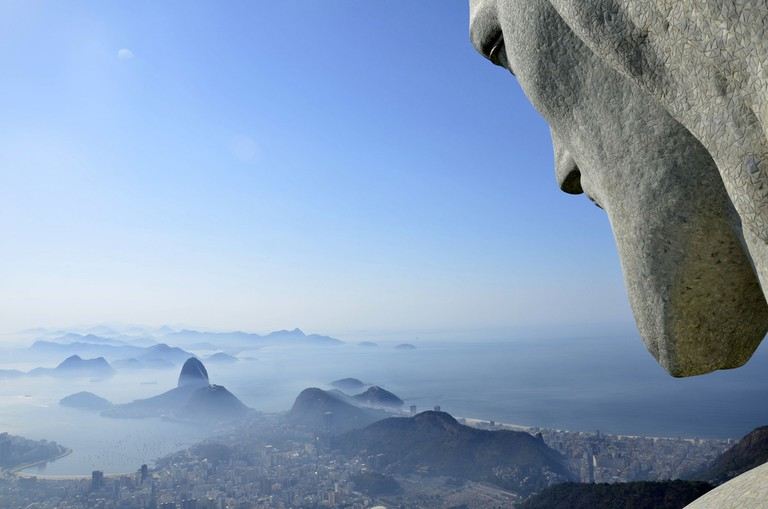 The stunning view from the topof Corcovado mountain |© Alexandre Macieira | Riotur/Flickr