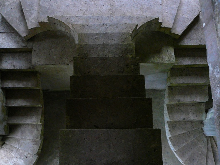 Geometric staircase | © Lee/Flickr
