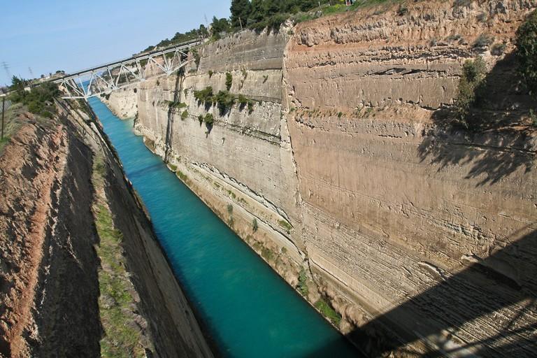 Corinth Canal |© Sharon Mollerus/Flickr