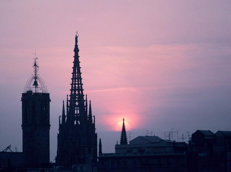 A rooftop view of El Born   © Almusaiti