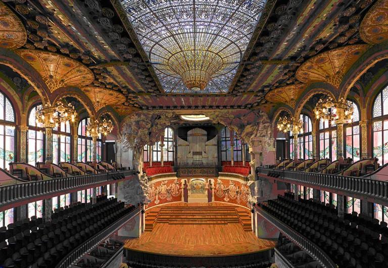 The Palau de la Música Catalana   © Wikimapa