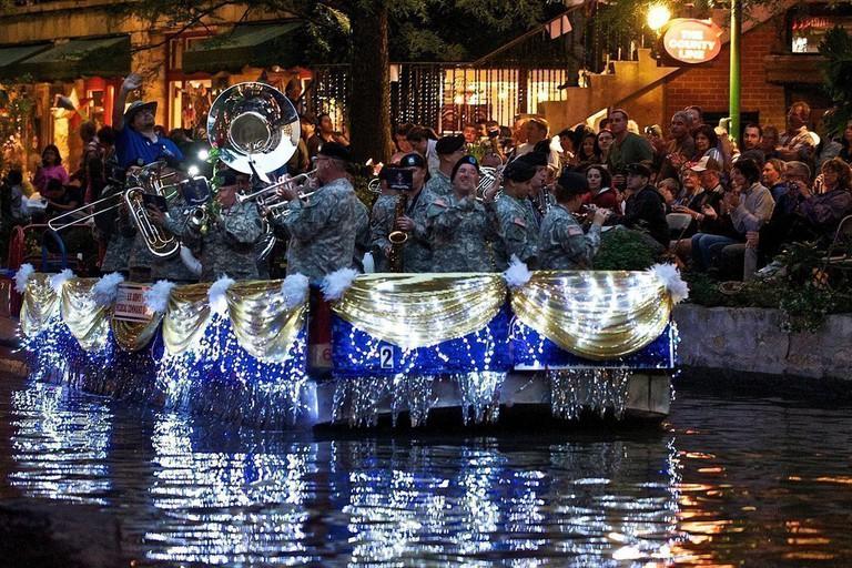 River Parade San Antonio