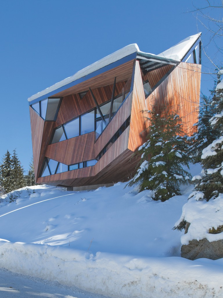 Patkau Architects, Hadaway House, 2013, Whistler, British Columbia, Canada