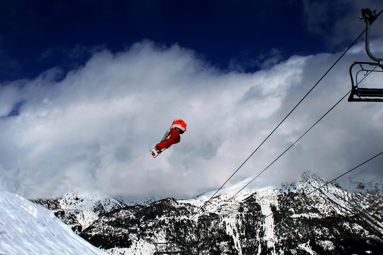 Freestyle at Grandvalira | © Snowticias.com