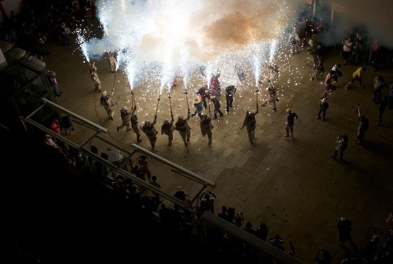 Celebrations on the night of Sant Joan © Tony Takitani