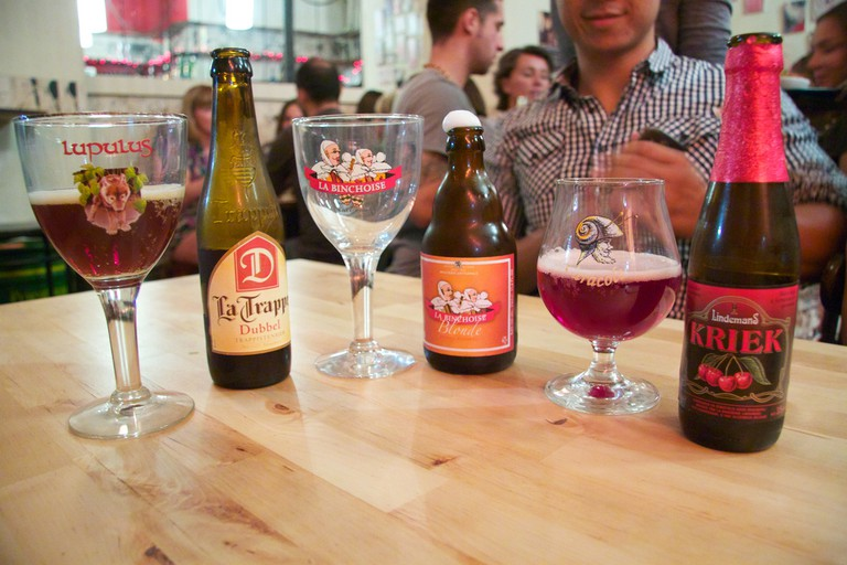 A selection of artisan beers at Mosquito   © irene.