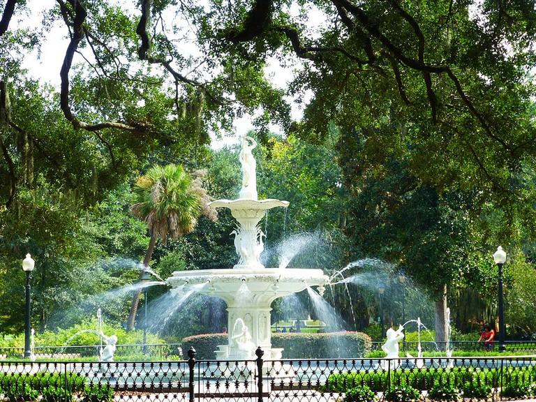 Forsyth Park in Savannah (Georgia, USA 2012) | © Paul Arps/Flickr