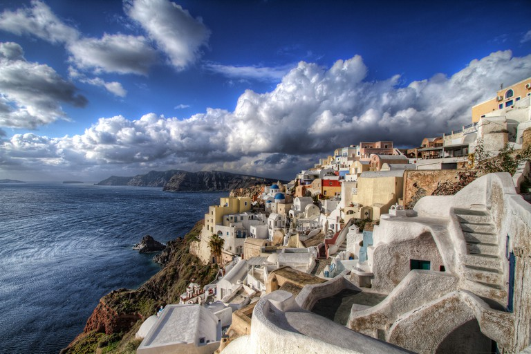 Winter in Santorini | © Nikola Totuhov/Flickr