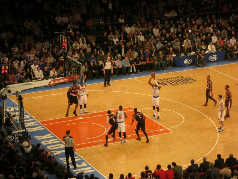 Knicks is short for Knickerbockers | © Flickr/Robb1e