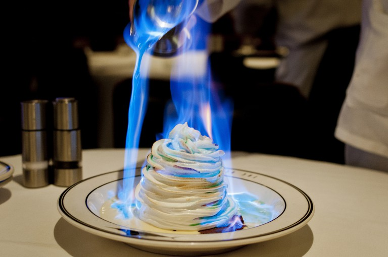 Baked Alaska at the Oceannaire in San Diego, California | © vxla/Flickr